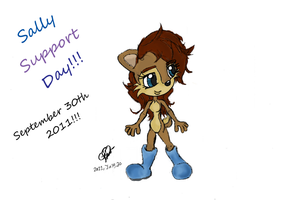 +Sally Support Day+ 2011 by SonicMayhem950