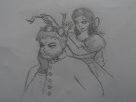 Javert and Eponine- Pretty Princesses! by Thehighwaygirl