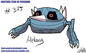 Another year of pokemon: #375 Metang