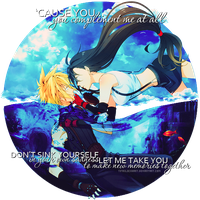 Cloud and Tifa by TifaxLockhart