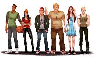 All Grown Up: Recess by IsaiahStephens