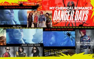Danger Days Wallpaper by Treeprincess