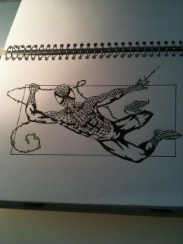 Spiderman wip by Madmoisielle