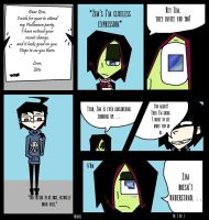 Invader Zim: Thread of Destiny Comic (Pg.1 Ep.1) by Cutediepie