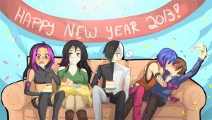Happy New Year 2013 by cubonefan3