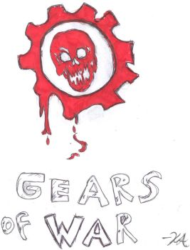 Cogtag explore cogtag on deviantart for Gears of war logo tattoo