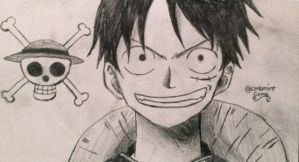 Luffy by cmbmint