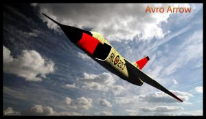 Avro Arrow by MotoTsume
