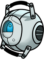 Wheatley by BeckaPOW