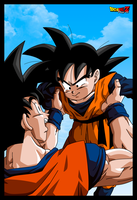 GOKU AND GOTEN by PhazeN1