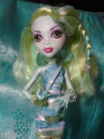 Lagoona Blue Custom Outfit Closeup 2 by OtakuEC