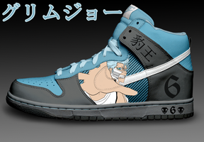 Grimmjow Nike Dunks Revised by Azrael-Haze