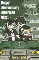 Happy Anniversary American Idiot! by runner-painter