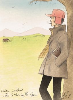 Holden Caulfield - The Catcher in the Rye - Final by LalunaPiena96