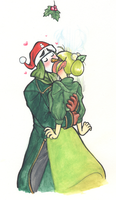 Under the Mistletoe by lrssa