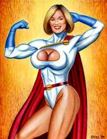 "Powergirl ""Strength"" by Xenomorph71"