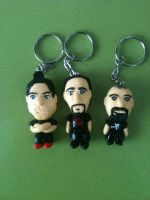 Ghost Adventures Crew Keychains by anapeig