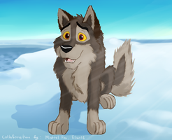Collab - Balto by Mistrel-Fox