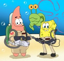 Ghostbuster Squarepants by Glitched9700
