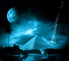 Egyptian Night Fantasy by abdelrahman