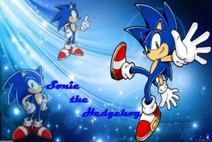 Sonic the Hedgehog Wallpaper by LilyxChip02