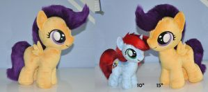 Big Scootaloo Plush by Sethaa