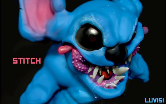 STITCH - by DanLuVisiArt