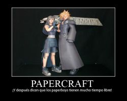 Papercraftdemotivationalposte by heraldodelmoro