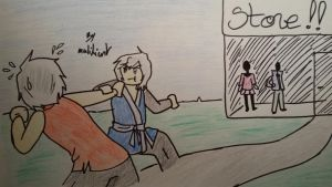 Ninjago oc's-Aodh and Leopah #14 by MalikiFlowers30