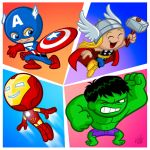 The Little Avengers by Fabvalle