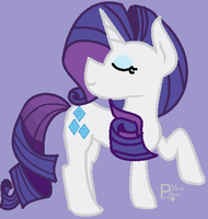 My Little Pony - Rarity by MusicaAngelinaBell