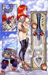 RED SONJA DEFINITIVE PAGE 02 by ONELOUSYCAT