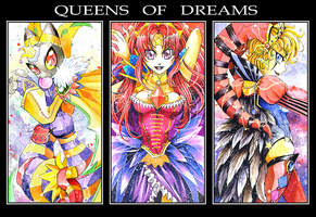 Queens of Dreams by kichigai