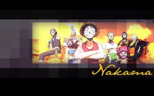 One Piece: we are N A K A M A by ailend