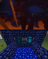 Blue Nether (Spotty's Texture Pack) WIP by Spottedfire-cat