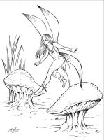Fairy of the Mushrooms by Jesse7800