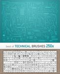 Technical Brushes BEST OF 250x by basstar