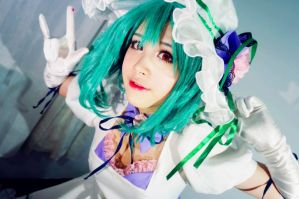 MACROSS FRONTIER - Ranka Lee by ZevyLily