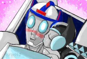 Tranformers OC: Bengera and Cooper by Israel42