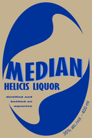 Median Bottle Label by CmdrKerner