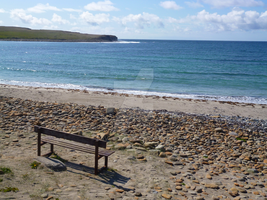 Orkney 2 (Skaill Bay - The Bench) by davvie74