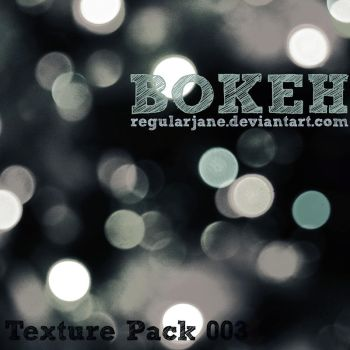 Bokeh Texture Pack 003 by regularjane