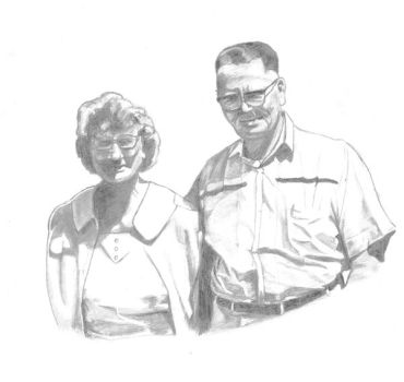 Old Family Pic - sketch by infosecwriter