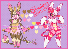 CLOSED SweetMonsterbun Adopts:Neapolitan+Shortcake by ColorgasmFreak