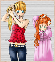 Colorize Honey and clover by fabyoletta