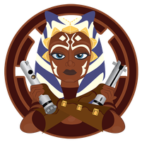 Ahsoka Tano by PixelKitties