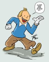 Tintin by htx