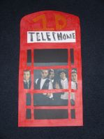 One Direction Phone Booth by duncancourtneytda