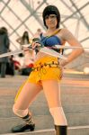 Yuffie with her big.... by Marybellla
