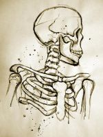 Unconventionally Keyed Skeleton Study Thing by InstilledPhear